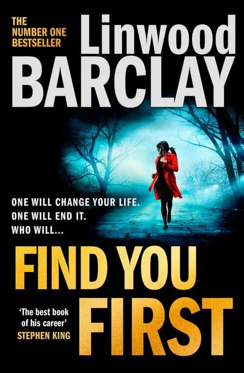 Find You First by Linwood Barclay   UK Paperback Cover   Aug 2021