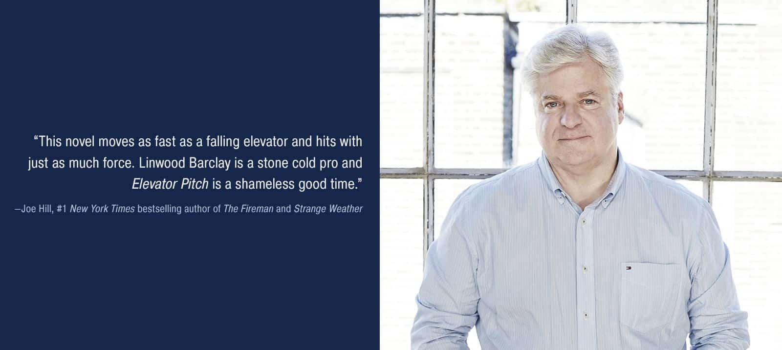 Praise for 'Elevator Pitch' by Linwood Barclay
